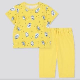 UNIQLO - 新品ユニクロUNIQLOドラえもんドライパジャマ黄色90