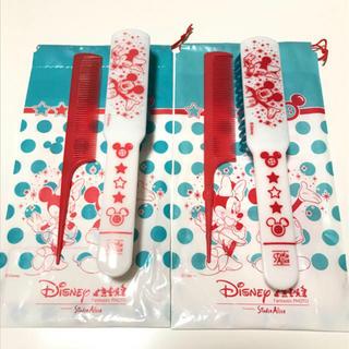 ディズニー(Disney)のスタジオアリス ディズニー ミッキー クシ セット(ヘアブラシ/クシ)