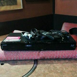 SHARP - ◎SHARP  BD-W520  12倍録  2番組W録 500GB フル装備①