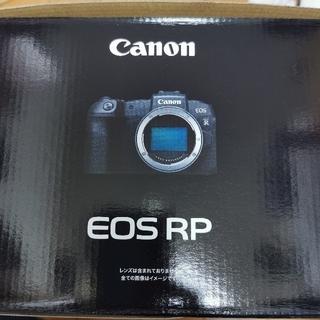 Canon - 【新品未使用】Canon EOS RP ボディ おまけ付き【3年保証付き】