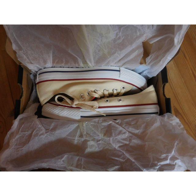 CONVERSE(コンバース)の コンバース オールスター 色 生成り 新品 レディースの靴/シューズ(スニーカー)の商品写真
