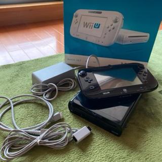 ウィーユー(Wii U)のWii U 32GB 黒(家庭用ゲーム機本体)