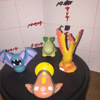 ポケモン(ポケモン)のポケモンキッズ フィギュア 指人形 任天堂 4個セット (キャラクターグッズ)
