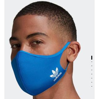 adidas - 三枚セットアディダス フェイスカバー  M/Lブルー