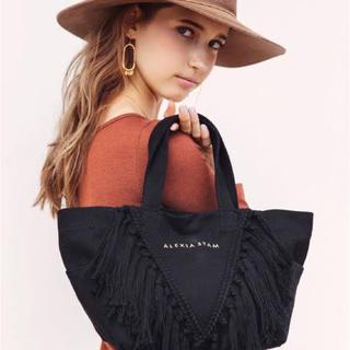 アリシアスタン(ALEXIA STAM)のalexiastam tote bag black(トートバッグ)