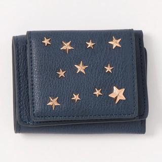 ViS - 【新品】ヴィス 星型スタッズ3つ折りミニ財布 ロペピクニック