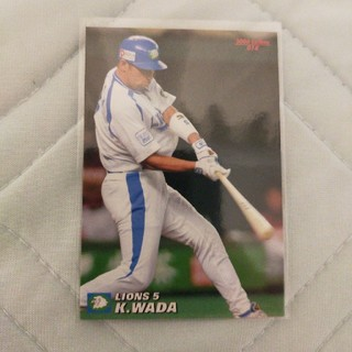 カルビー(カルビー)の2006 カルビープロ野球チップス 和田一浩(スポーツ選手)