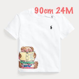 Ralph Lauren - ラルフローレン 本を読むポロベア  Tシャツ 24M