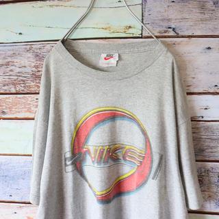 ナイキ(NIKE)のNIKEナイキ 白タグ メキシコ製 90s Tシャツ グレー(Tシャツ/カットソー(半袖/袖なし))