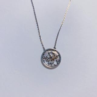 スタージュエリー(STAR JEWELRY)のstar jewelry 地球モチーフ ネックレス(ネックレス)