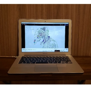 Mac (Apple) - macbook air 2017 i5 8GB SSD256gb 13インチ