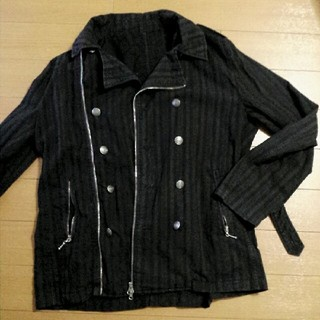アルゴンキン(ALGONQUINS)のメンズジャケット 上着 春秋物 パンク ロック 黒(その他)