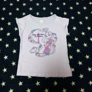 ユニクロ(UNIQLO)のUNIQLO UT Tシャツ 100 ディズニー ラプンツェル ラベンダー(Tシャツ/カットソー)