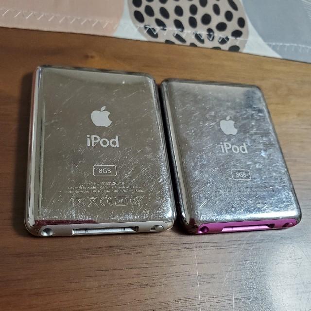 iPod 8GB スマホ/家電/カメラのオーディオ機器(ポータブルプレーヤー)の商品写真