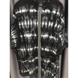 ピースマイナスワン(PEACEMINUSONE)の[黒、ONESIZE] Tシャツ PEACEMINUSONE(Tシャツ/カットソー(半袖/袖なし))