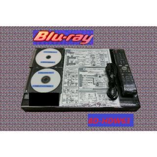 SHARP - シャープのブルーレイレコーダー【BD-HDW63】