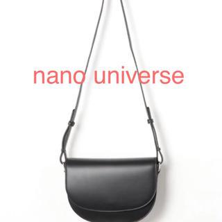 nano・universe - ナノユニバース SaRaku ハーフラウンドミニショルダーバッグ