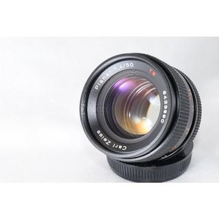 キョウセラ(京セラ)の極上美品☆CONTAX Zeiss Planar T* 50㎜ F1.4 AEJ(レンズ(単焦点))