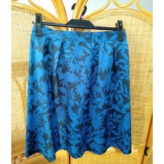 テチチ(Techichi)のテチチ ボタニカル柄フレアスカート(ひざ丈スカート)