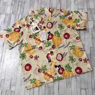 【新品】 ダブルビー アロハシャツ 100(ブラウス)