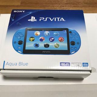 PlayStation Vita - PlayStation Vita PS アクアブルー PCH2000