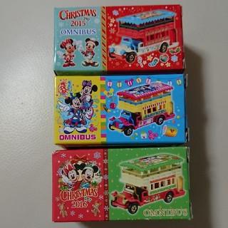 Disney - トミカ オムニバス 3台セット