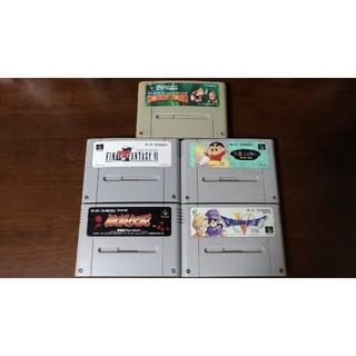 スーパーファミコン(スーパーファミコン)のスーパーファミコン ソフト 5本セット(家庭用ゲームソフト)