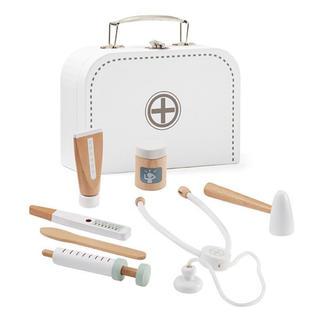 BorneLund - 北欧 木製おもちゃ お医者さんセット ホワイト