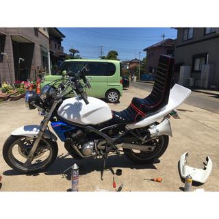 タイムセール【新品配線加工済み】バイク用拡声器 bluetoothアンプセット(パーツ)