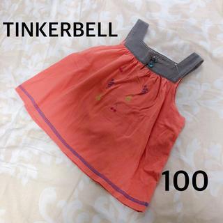 ティンカーベル(TINKERBELL)のTINKERBELL カットソー チュニック ノースリーブ(Tシャツ/カットソー)