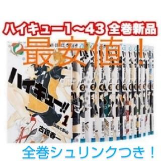 集英社 - 即日発送!早い者勝ち!ハイキュー 全巻セット 新品 漫画 本 全巻 1〜43