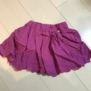 プティマイン(petit main)の新品 キッズ スカート(スカート)