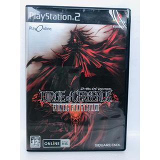 ダージュ オブ ケルベロス-ファイナルファンタジーVII- PS2(家庭用ゲームソフト)