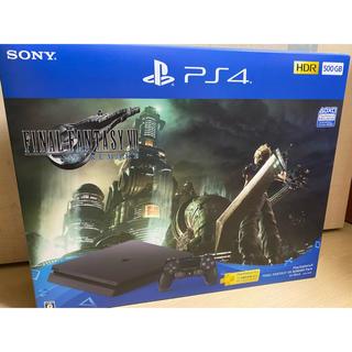 プレイステーション4(PlayStation4)のFF7 リメイク PS4(家庭用ゲーム機本体)