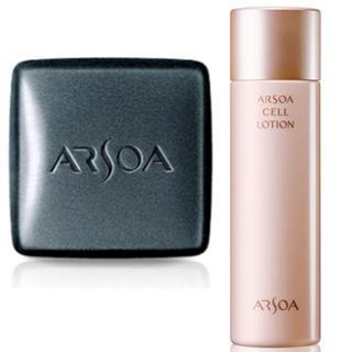 アルソア(ARSOA)の石鹸+SELL ローション(洗顔料)