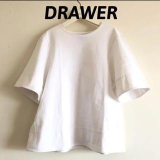 Drawer - ドゥロワー Aラインカットソー