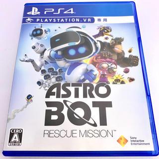 プレイステーション4(PlayStation4)の美品 PS4 ASTRO BOT:RESCUE MISSION(家庭用ゲームソフト)