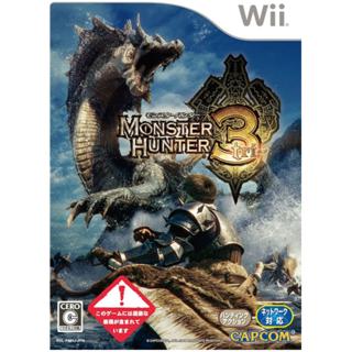 モンスターハンター3 (トライ) Wiiゲームソフト(家庭用ゲームソフト)
