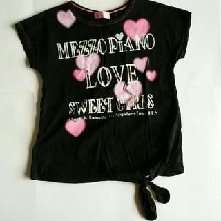 メゾピアノ(mezzo piano)のメゾピアノ Tシャツ(Tシャツ/カットソー)