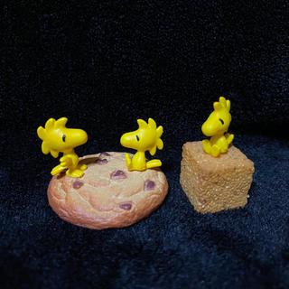 ピーナッツ(PEANUTS)のスヌーピー  / タイニーコーヒーショップ / ウッドストック 2種セット(アニメ/ゲーム)