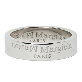 マルタンマルジェラ(Maison Martin Margiela)の20AW新品XS メゾン マルジェラ リバースロゴ リング 指輪 新作 メンズ(リング(指輪))