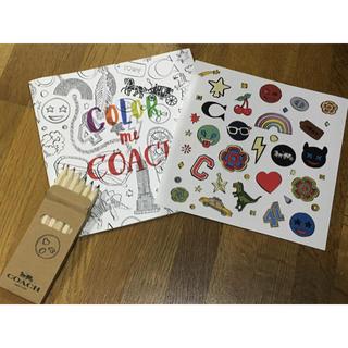 コーチ(COACH)のCOACH  塗り絵&色鉛筆&シール(色鉛筆)