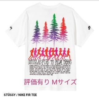 ナイキ(NIKE)のMサイズ NIKE × stussy  fir tee Tシャツ ナイキ(Tシャツ/カットソー(半袖/袖なし))