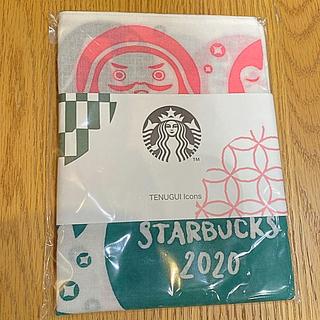 スターバックスコーヒー(Starbucks Coffee)のスターバックス TENUGUI ハンカチ てぬぐいアイコンズ(和装小物)