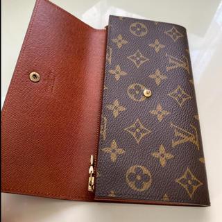ルイヴィトン(LOUIS VUITTON)の極美品 正規品ルイヴィトン長財布(財布)