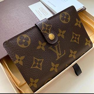 ルイヴィトン(LOUIS VUITTON)の極美品です 正規品ルイヴィトンがま口 折財布(財布)