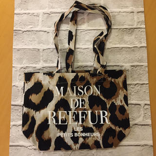 Maison de Reefur - メゾンドリーファ ショップバッグ レオパード柄 S