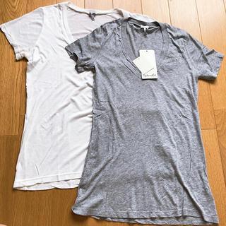 スコットクラブ(SCOT CLUB)のVネック半袖Tシャツ(Tシャツ(半袖/袖なし))