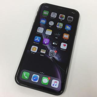 アップル(Apple)の一括購入 SIMフリー iPhone XR 64GB ブラック(スマートフォン本体)