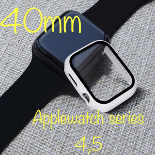 アップルウォッチ(Apple Watch)のApple Watch アップルウォッチ series4/5 保護ケース カバー(腕時計)